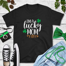 Load image into Gallery viewer, St Patricks Day Shirt Party Shirt I'm a Lucky Mom