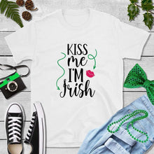 Load image into Gallery viewer, St Patricks Day Shirt Party Shirt Kiss Me I'm Irish