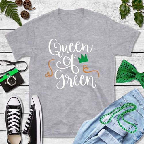 St Patricks Day Shirt Party Shirt Queen of Green
