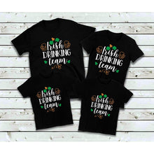 Load image into Gallery viewer, St. Patrick's Day Shirts Irish Drinking Team Shirts Family