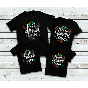St. Patrick's Day Shirts Irish Drinking Team Shirts Family