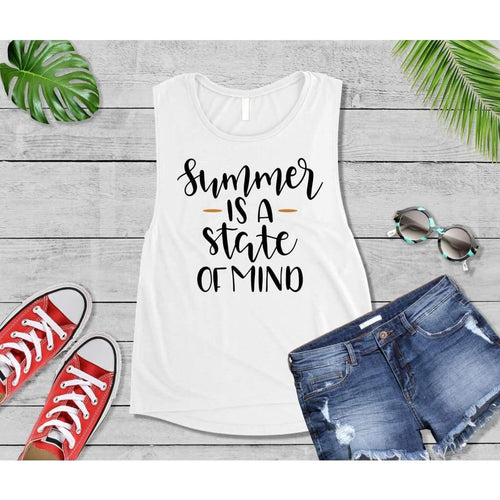 Summer Shirt Vacation T-Shirt Summer Is a State of Mind
