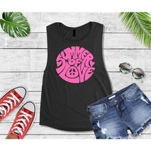 Load image into Gallery viewer, Summer Shirt Vacation T-Shirt Summer of Love Tank