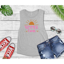 Load image into Gallery viewer, Summer Shirt Vacation T-Shirt Summer Time Tank