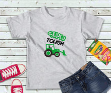 Load image into Gallery viewer, Super Tough Shirt, Kids Shirt, Tractor Kid Shirt - Lake Erie Goods