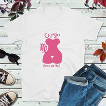 Load image into Gallery viewer, Virgo T-Shirt Star Sign Zodiac Gift Absolutely Fabulous