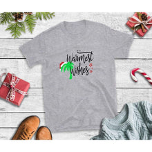 Load image into Gallery viewer, Warmest Wishes Shirt Beach Christmas T-Shirt Holiday Shirt