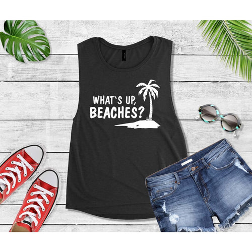 What's Up Beaches Beach Tank or T-Shirt Beach Wear Vacation
