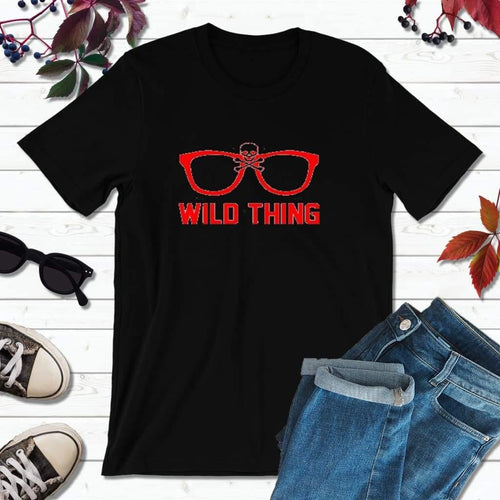 Wild Thing Shirt Indians T-Shirt Cleveland Baseball Shirt