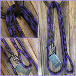 Rope Dog Leads - Assorted Colours, Lengths & Clips - Made & Ready to go.