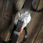 Royal King Silver Ferrules Western Show Halter & Lead Set