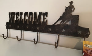 Horse Themed Welcome Sign Hook