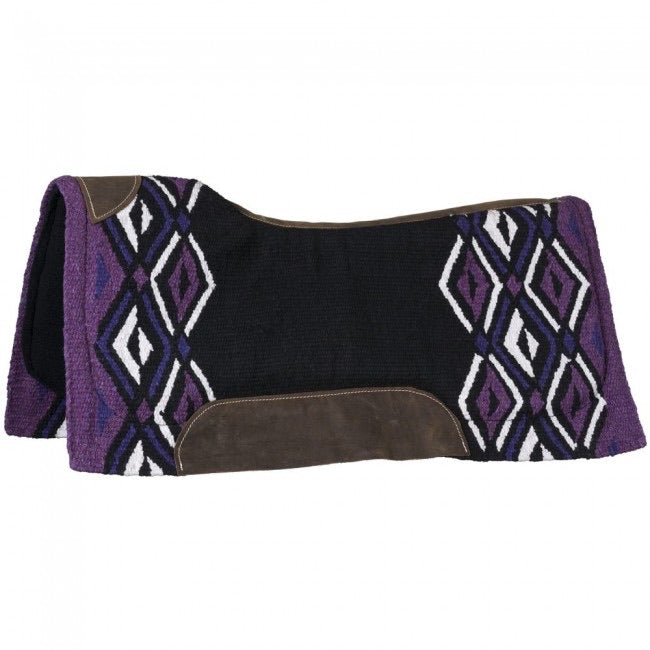 "Tough-1 Pachanga 36""x34"" Contour Wool Saddle Pad"