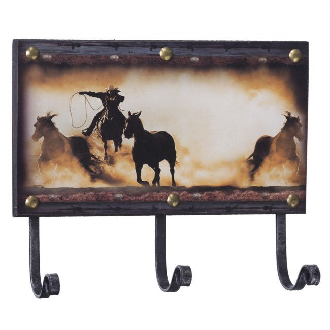 Western Style Key Hook Wall Hanger