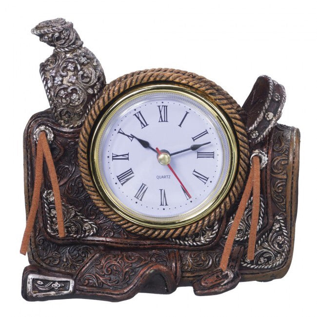 Saddle Themed Clock
