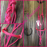 Rope Halters COB Size (Assorted Colours) - Made & Ready to go.
