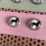 Horse Earrings / Studs - Smarie Design Jewellery