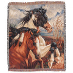 Western Themed Blanket / Throws