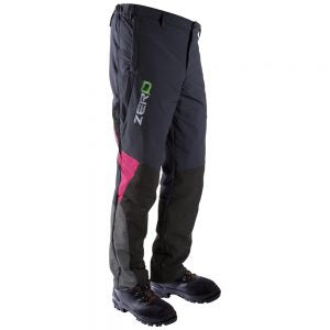 Clogger Zero Mens Generation 2 Chainsaw Trousers - Limited Edition Pink