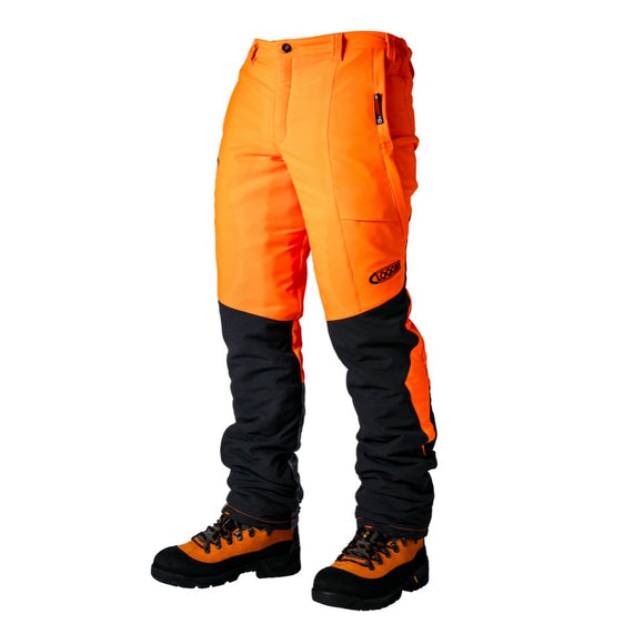 Clogger Zero Chainsaw Trousers - Orange