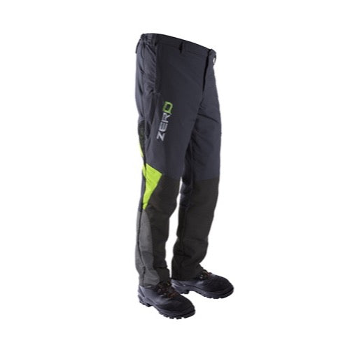 Clogger Zero Womens Generation 2 Chainsaw Trousers - Green