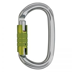 Edelrid Oval Power 2400 Triple Silver Carabiner