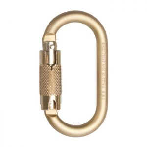 DMM 10mm Steel Oval Locksafe Karabiner
