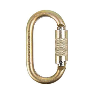 ISC Oval Karabiner Keylock Supersafe