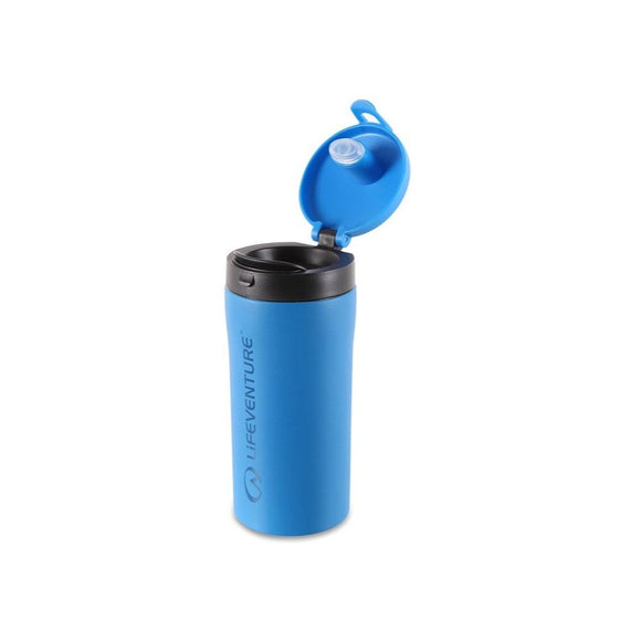 LV Flip Top Thermal Mug Blue