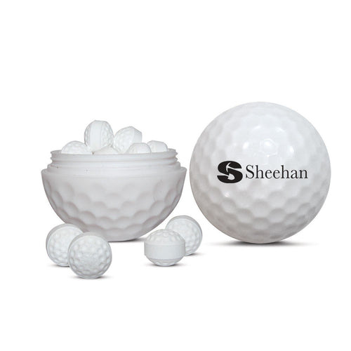 Golf Ball Sweets Container (Sugar Free Mints)