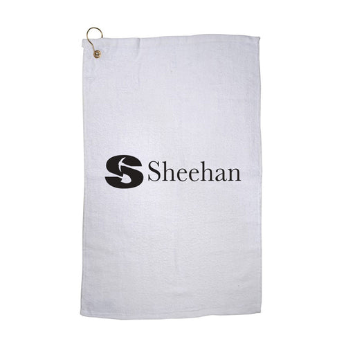 16x25 Hemmed Golf Towel w/ Grommet & Hook