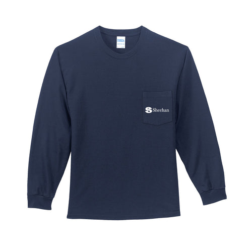 Maintenance Pocket Long Sleeve T Shirt