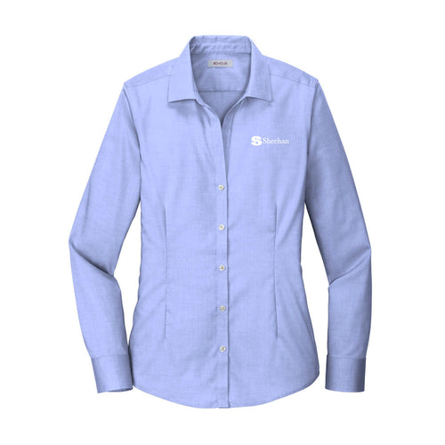 Red House Ladies Pinpoint Oxford Non-Iron Shirt