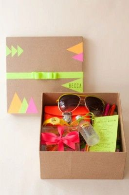 welcome gift goody box
