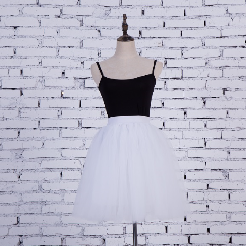 White tutu skirt - 5 layer
