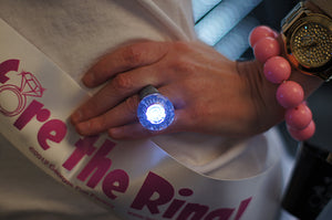 Bride-to-be Iron-On Kit with Light Up Ring