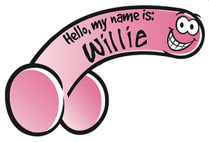 Name Tags - Willies
