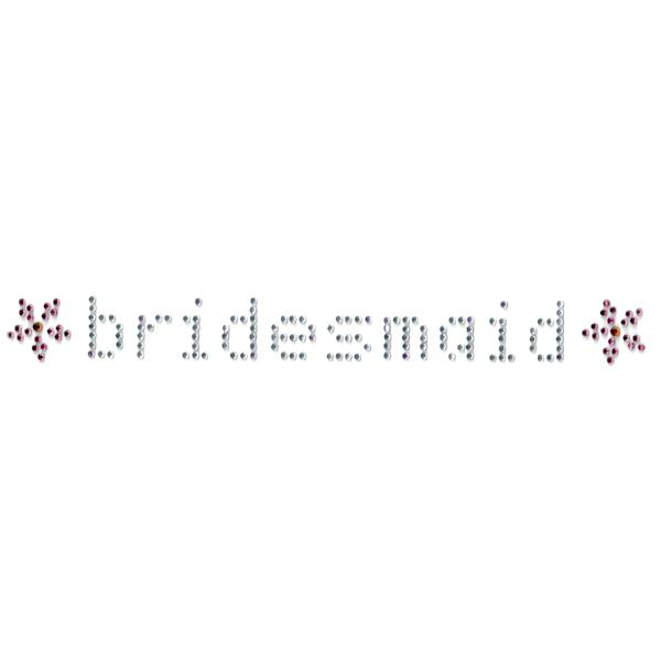bridesmaid iron on decal bachelorette bridal shower canada