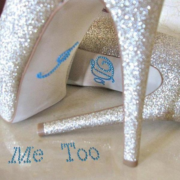 wedding shoe decals - I do me too