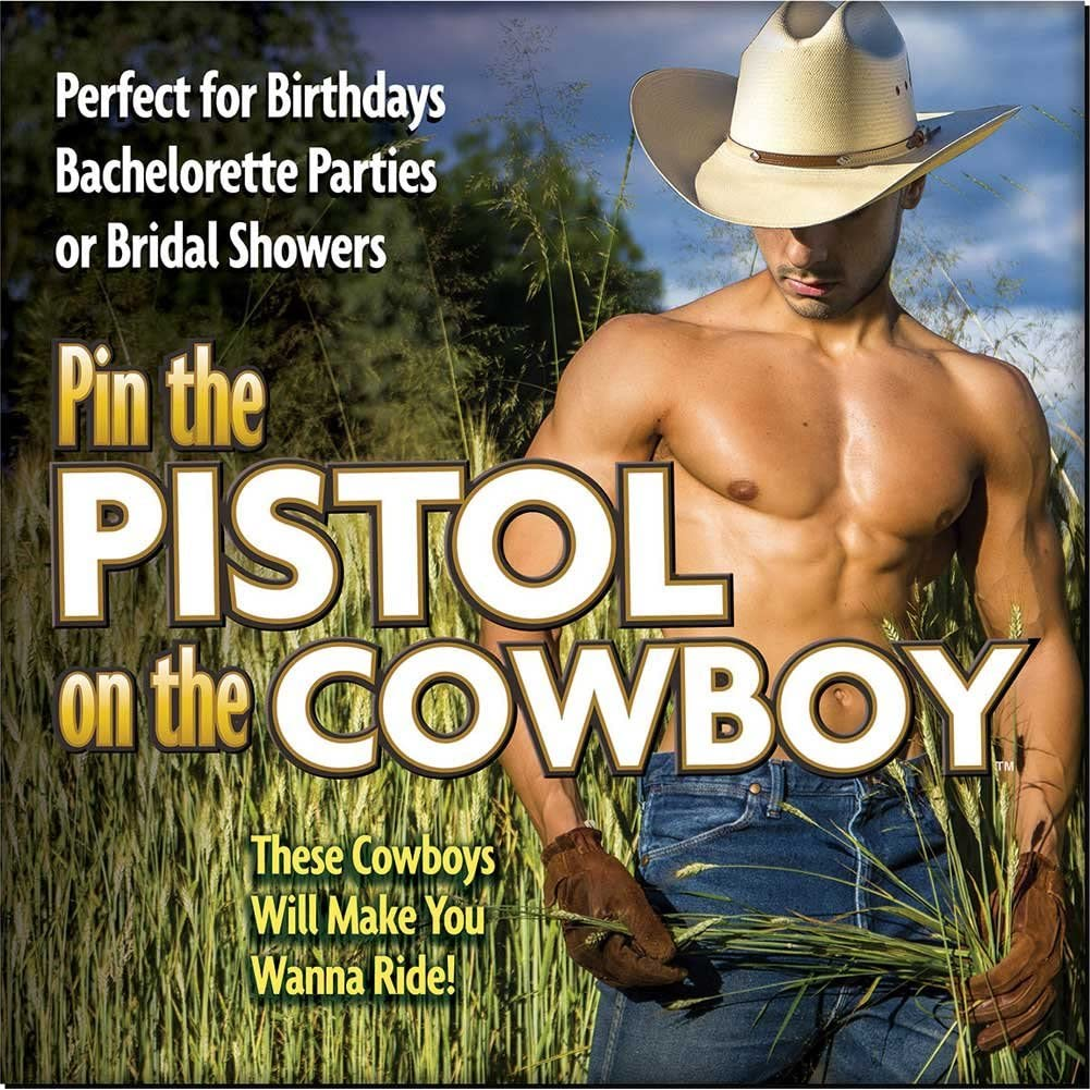 Bachelorette pin the pistol on the cowboy canada