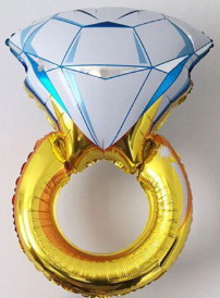 Huge helium ring balloon