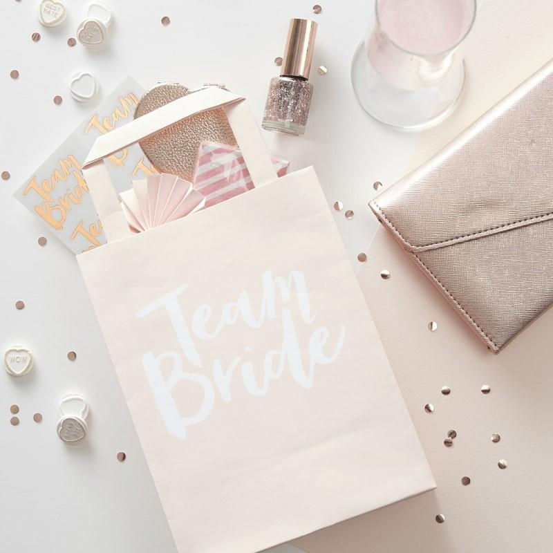 Team Bride party favour bag