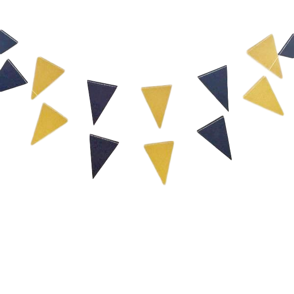 black and gold flag bunting toronto bachelorette