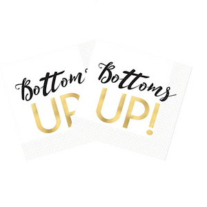 Bachelorette bottoms up napkins canada