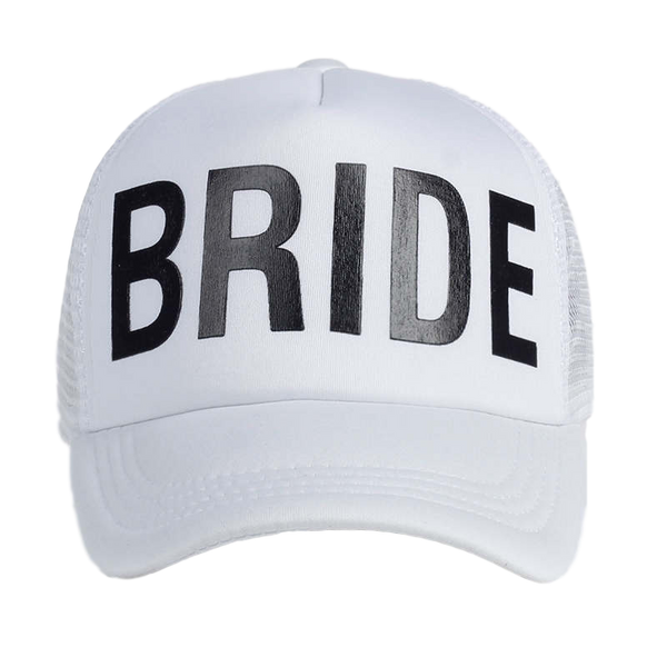 bride bachelorette hat white canada