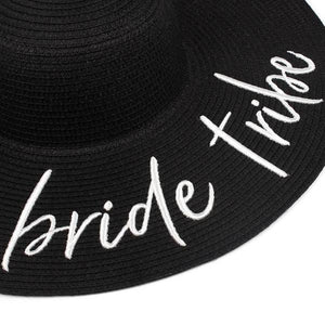 bride tribe floppy sun hat bachelorette canada