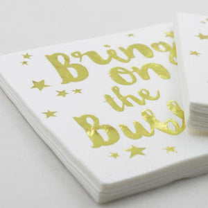 bridal shower napkins canada bachelorette