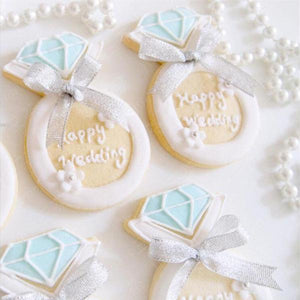 bridal shower favour cookie canada