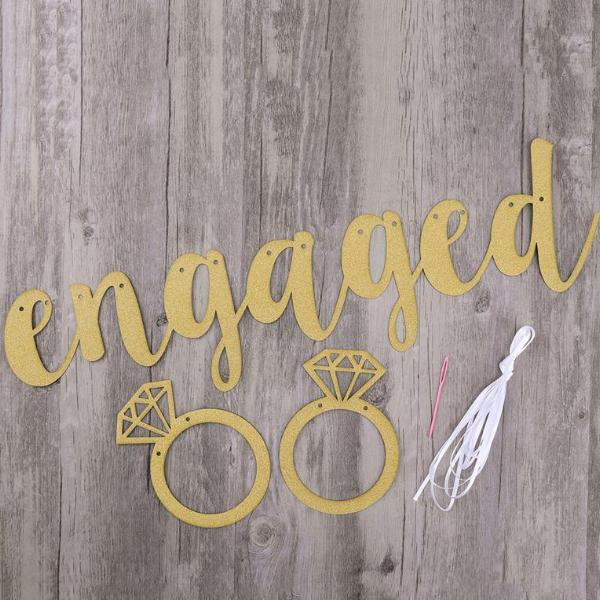 engagement party banner canada