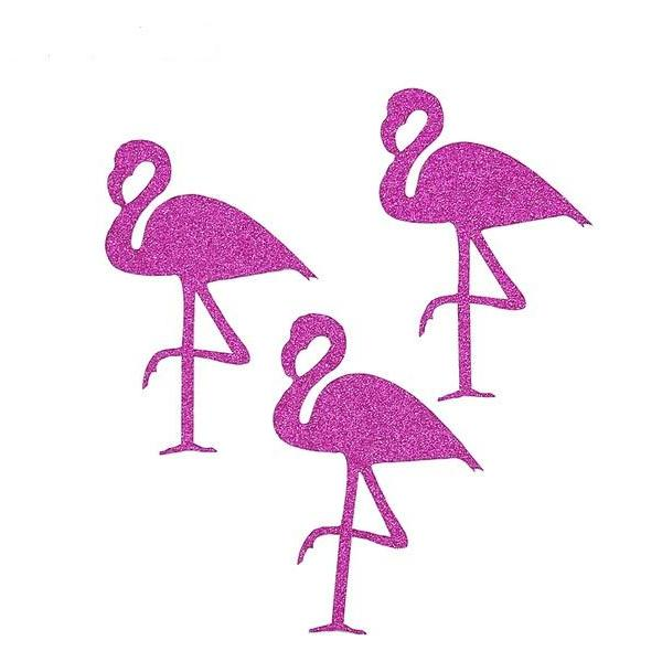 Flamingo decals stickers flamingle